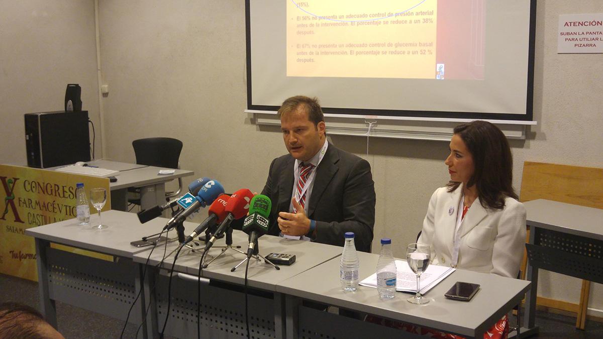 Mesa-debate X Congreso Farmáceutico Castilla y León
