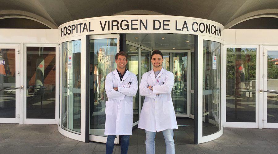 Implantación del SPD de Venalink por dos estudiantes de Salamanca